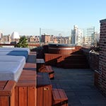 Monocoat Exterior Oil Applied to Penthouse Roof Deck in NYC